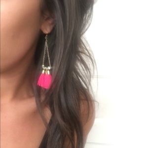 BaubleBar Jewelry - Bauble Bar Pink and Gold Earrings